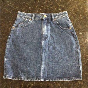 Rolla's Denim High Mini Skirt